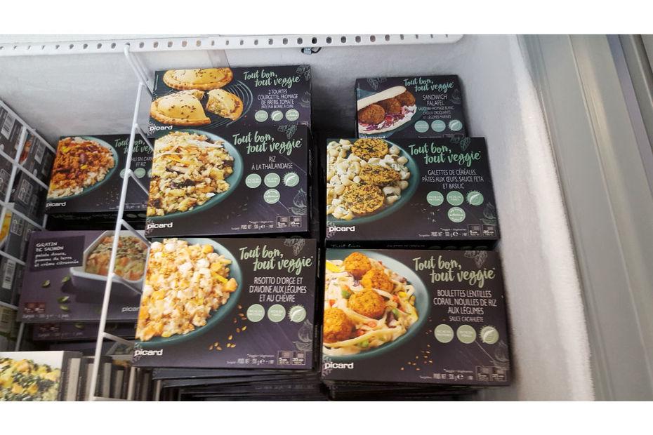 Picard lance une gamme de sept plats cuisin s veggies for Plats cuisines picard